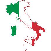 Olaszország térkép